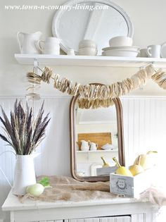 961baae09ca4b Decorating for fall with neutrals via Town and Country Living.  fall  decor