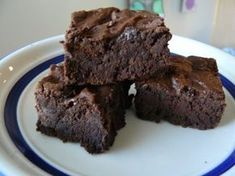 These brownies are way better than the packaged kind- but they are RICH! For once, Ellis couldn't finish his heaping bowl of brownies and ice cream. I used a 9x13 pan instead of a square 9x9 so they are thinner, but believe me, you don't need them to be any thicker than they are. I still have plenty of ingredients to make them at least 2-3 more times, and they may be easier to eat without the chocolate chips.