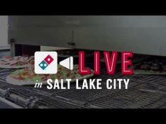 Life just got more stressful for the workers at a Domino's Pizza restaurant in Salt Lake City. That's because that particular location is the guinea pig for the chain's new Domino's Live experiment, dreamed up by Crispin Porter + Bogusky.