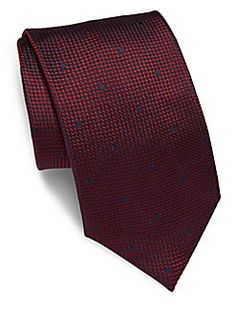 e80003364b4b Brioni - Dotted Silk Tie Wall Street, Silk Ties, Fashion Stylist, Dots,