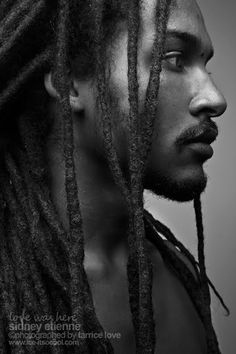 "Dreadlocks also known as locs or dreads are a signature hairstyle of the black culture. They are formed by mattingRead More Dreadlock hairstyles for men"" Black Is Beautiful, Gorgeous Men, Beautiful People, Men In Black, Black Guys, Black People, Handsome Black Men, Natural Hair Styles, Long Hair Styles"