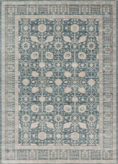 Ella Rose Dark Blue Dark Blue Area Rug - Magnolia Home by Joanna Gaines-Designer Joanna Gaines of Fixer Upper, showcases quaint country charm with Magnolia Home by Loloi Rug Company. Joanna's simple and fresh, yet timeless style is highlighted Farmhouse Living Room Furniture, Farm House Living Room, Magnolia Homes, French Country Decorating, Farmhouse Rugs, Magnolia Home Rugs, Farmhouse Rugs Living Room, Rugs In Living Room, Joanna Gaines Rugs