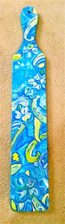 Lilly paddle!