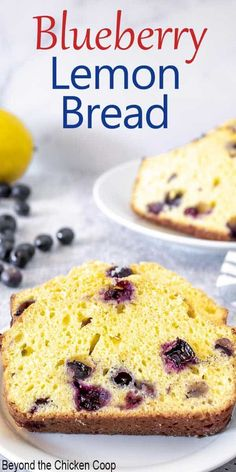 Blueberry Quick Bread, Blueberry Loaf Cakes, Baking Recipes, Dessert Recipes, Desserts, Bread Recipes, Cake Recipes, Bread Cake, Frozen Blueberries