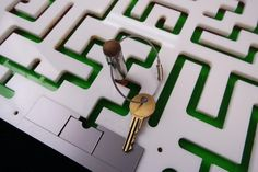 The prefect puzzle prop for any Escape Room. Escape Room participants must navigate the maze in order to free the key. This puzzle will trap a key or…