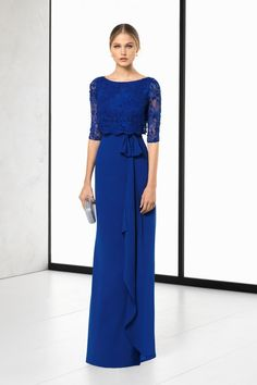 Rosa Clará's 2018 Evening Dress Collection: It's Your Big Day Too Image: 7 Mom Dress, Lace Dress, Bridesmaid Dresses, Prom Dresses, Wedding Dresses, Semi Formal Dresses, Chiffon Gown, Dress Collection, Beautiful Dresses