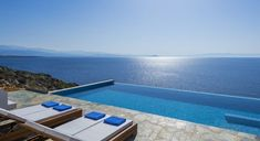 Luxury Infinity Pool Villa Kyma with Sea Views, at Tersanas Chania. Stylish luxury villa Kyma is overlooking the Chania bay from a high ground offering amazi. Newport House, Villa With Private Pool, Luxury Villa Rentals, Top Travel Destinations, Vacation Villas, Vacation Rentals, Dream Vacations, Swimming Pools, World