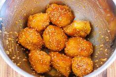 油は大さじ2♪むね肉で作る♪『揚げない鶏唐の甘酢ごまあえ』 by Yuu | レシピサイト「Nadia | ナディア」プロの料理を無料で検索