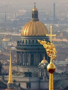 Cathédrale Saint Isaac - Saint Petersbourg - Le Dôme