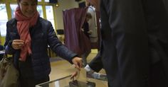 French voters begin casting ballots in presidential election #World #iNewsPhoto