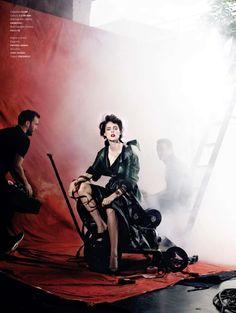 visual optimism; fashion editorials, shows, campaigns & more!: minerva is a diva: coco rocha by kristian schuller for l'officiel italia september 2014