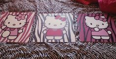 Hello Kitty painting on Etsy $20