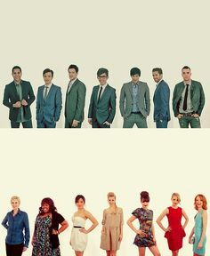 I know it's glee but I like the photo idea.. Catch the personality of each person