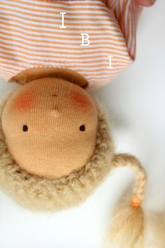 Mini Puppe von Kowalke IBI 25cm