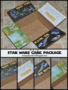 Star Wars Care Package - May the 4th be with you -  #deployment