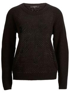 SELECTED trui zwart #allblackbyOTTO #ottonl