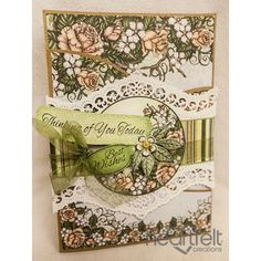 Heartfelt Creations - Berry Blossom Foldout With Wrap Project