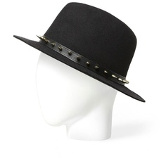 Zara Hat With Pin Studs ($36) ❤ liked on Polyvore