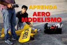 O Curso de Aeromodelismo Completo Online É uma Coletânea nunca antes vistas com tudo que você precisa aprender para praticar Aeromodelismo.