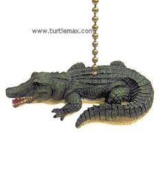 Alligator Fan Pull