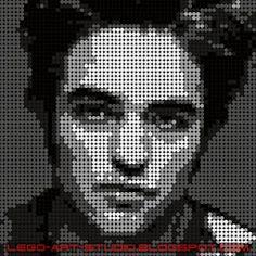 Small Cross Stitch, Cross Stitch Art, Modern Cross Stitch, Lego Portrait, Portrait Art, Foto Pixel, Square Drawing, Meaningful Drawings, Diy Bracelets Patterns