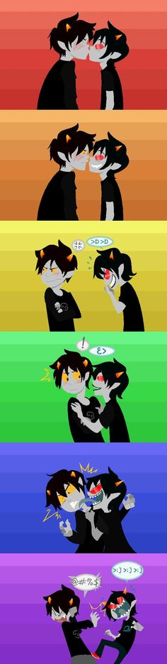 Funny Homestuck | Homestuck: Use Lick Colored by ~GameRat514 on deviantART