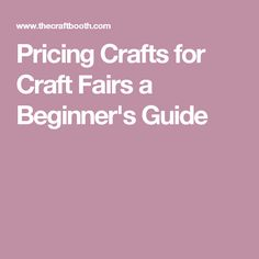 Pricing crafts for craft fairs; a detailed explanation and breakdown of how to price your items to sell while still earning a profit and covering expenses. Christmas Bazaar Ideas, Selling Crochet, Christmas Crafts To Sell, Craft Sale, Craft Fairs, Helpful Hints, Fun Facts, Diy Crafts, Display Ideas