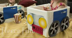 Free printable Drive in Theater Cars via @FleeceFun
