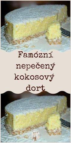 Czech Recipes, Food Platters, Healthy Sweets, Sweet Cakes, No Bake Cake, Food Art, Baking Recipes, Cheesecake, Deserts