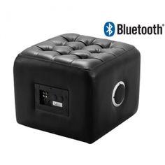 Enceinte Pouf Multimédia Bluetooth en promo chez Auchan Luxembourg