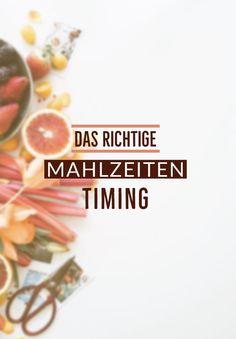 Gibt es das richtige Timing für eine Mahlzeit?  All das und vieles mehr erfährst du hier! #mahlzeit #timing #essen #ernährung #gesündesten #Fitness