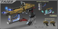 ArtStation - Taser, Rock D