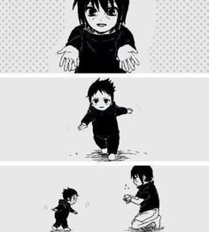 Itachi, Sasuke