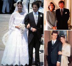 Con Philippe Junot, se casó el 28 de junio de 1978. Para la ocasión, llevó un vestido blanco de encaje, obra de Marc Bohan para Dior. Con Stefano Casiraghi contrajo matrimonio (foto inferior a la derecha) el 29 de diciembre de 1983. Mucho más discreta optó por un vestido de raso cruzado, que coordinó con unas lazos adornando su melena. Más discreta fue en su enlace con Ernesto de Hannover en 1999.