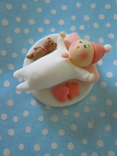 Love! ♥ ♥ ♥ Cupcake toppers for baby showers ♥ ♥ ♥