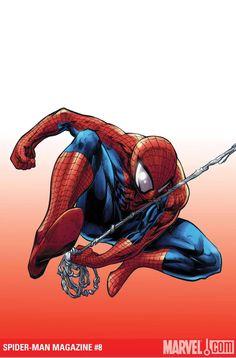 Stan Lee, Marvel Comics Art, Marvel Dc, Ultimate Spider Man, Spider Tattoo, Steve Ditko, Man Images, Male Magazine, Comic Book Heroes