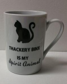 Thackery Binx Coffee Mug | Hocus Pocus | Black Cat | Halloween | Friend's Gift | Spirit Animal | Cat Lover