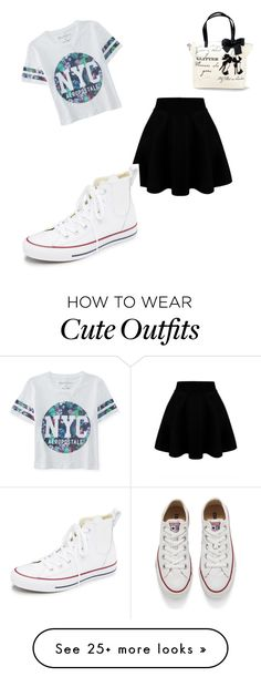 """Cute summer outfit"" by wolff-sydney on Polyvore featuring mode, Aéropostale, Converse, women's clothing, women, female, woman, misses en juniors"