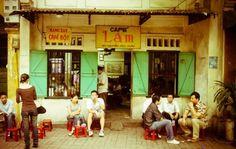Cafe Lam - 60 Nguyen Huu Huan, Old Quarter, Hanoi, Vietnam