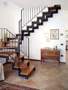 """The stairs. Frame on broken skewers with a turn of 90 *: sale, price in Kiev. stairs from """"Artforge. Steel Stairs Design, Staircase Design Modern, Staircase Architecture, Stair Railing Design, Metal Stairs, Home Stairs Design, Loft Stairs, Modern Stairs, House Stairs"""