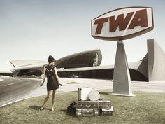 TWA Flight Center JFK Airport - New York by Eero Saarinen, do you know www.kidimo.com ?