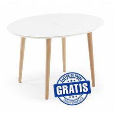 Mesas de Comedor Extensibles Oqui (silla Eames)