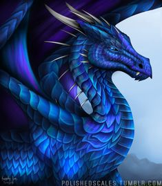 How could one dragon be so fearsome and yet so cute at the same time? ⭐ Double tap if you 💙 this beautiful blue drake! Dragon Eye, Blue Dragon, Silver Dragon, Mythical Creatures Art, Magical Creatures, Dragon Sketch, Dragon Tattoo Designs, Dragon Tattoos, Beautiful Dragon