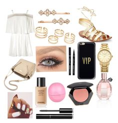 """""""Untitled #8"""" by rainn1233 on Polyvore featuring Kate Spade, Henri Bendel, Topshop, Casetify, River Island, Viktor & Rolf, Chanel and H&M"""