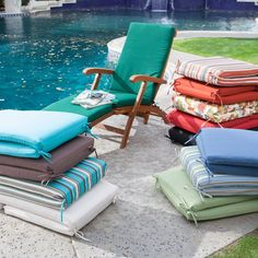 Coral Coast Classic 69 x 19.5 in. Steamer Chaise Lounge Cushion