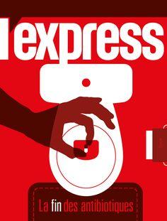 L'express magazine. Proposition de couverture