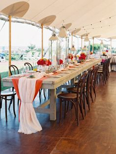 Love the huge lanterns at this Cape May Wedding from Trent Bailey Photography