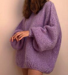 Mode Crochet, Knit Crochet, Crochet Eyes, Tunisian Crochet, Crochet Granny, Knit Fashion, Fashion Outfits, Gros Pull Mohair, Mode Inspiration