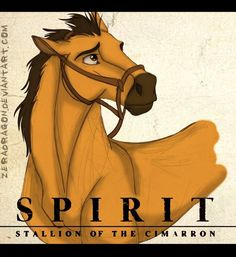 Spirit: Stallion of the Cimarron by Mganga-The-Lion Spirit The Horse, Spirit And Rain, Horse Drawings, Realistic Drawings, Spirit Der Wilde Mustang, Wilde Mustangs, Spirit Drawing, Childhood Movies, Spirited Art