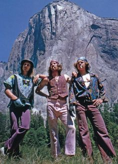 Heart of Feathers: 70's California Hiker Images